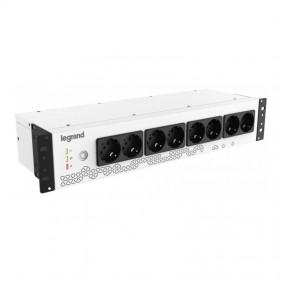 UPS Legrand KEOR PDU per installazione rack 800VA 8 prese tedesche 310332
