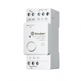 Relè Finder ad impulsi elettronico 230 VAC 130182300000