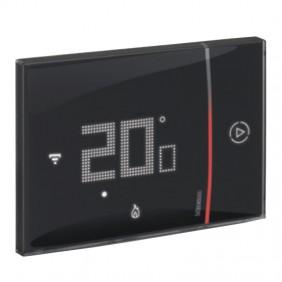 Termostato Connesso Bticino WIFI SMARTHER 2 ad incasso Nero 230V XG8002