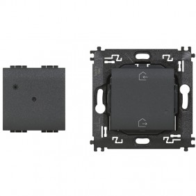 Gateway module + ENTER&EXIT Bticino Living Light Anthracite L4500C