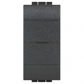 Deviatore Connesso Bticino Living Light colore Antracite L4003C