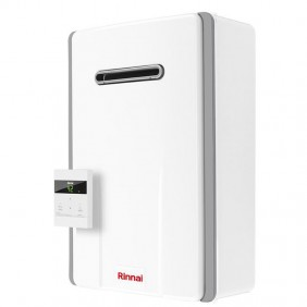 Water heater instantaneous Rinnai outdoor INFINITY 17-Liter natural Gas REU-A1720W-AND-NG