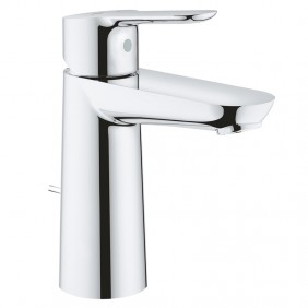 Mixer Tap for wash Basin Grohe BAUEDGE Size M Chrome 23758000