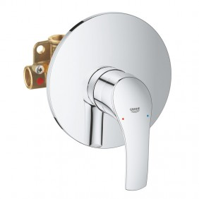 Mixer for Shower, Grohe EUROSMART flush mounted Chrome 33556002