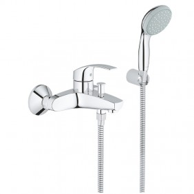 Mixer tap for Bath and Shower Grohe EUROSMART Chrome 33302002