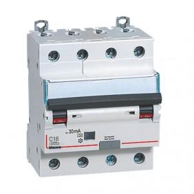 Interruttore magnetotermico differenziale Bticino 16A 4P 30MA 4,5KA 4M GA8843A16