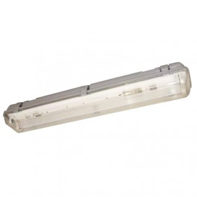 Ceiling light Watertight Empty with LED we can provide and advise Ophelia 2XT8 60cm 400755-18-2LED
