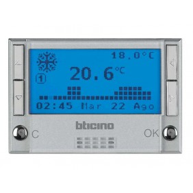 BTICINO AXOLUTE TEMPERATURE THERMOSTAT HC4451