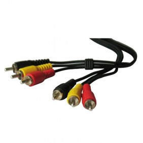 Cable audio-video Melchioni 3RCA 3RCA 1.5 m 149000192