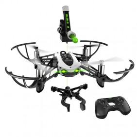 Mini Drone de Parrot MAMBO MISIÓN con un cañón que dispara canicas
