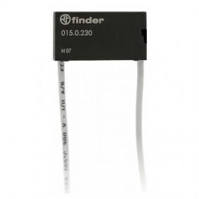 Forma de supresión de corriente residual Buscador de dimmer 15 de la Serie 0150230