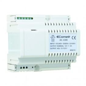 Power supply Comelit 12VDC 4A maximum input 110/240VAC 4399