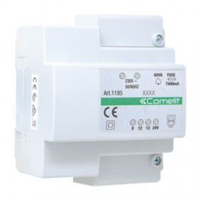 Comelit transformer 60VA, input 230VAC, output...