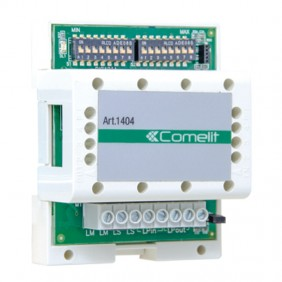 Comelit audio/video exchange module for Simplebus Top 2-wire digital systems