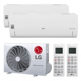 Air conditioner Dual Split LG FREE SMART 9000+9000BTU WIFI R32++/A+