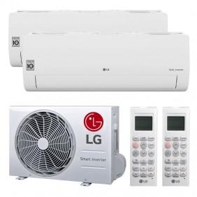 Air conditioner Dual Split LG FREE SMART 9000+9000BTU WIFI R32++/A+
