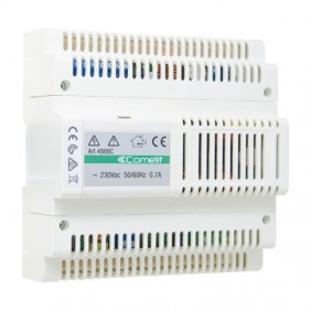 Mixer power supply Comelit system simplebus color