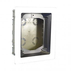URMET 1716/60 - Box, flush-mounted with frame for video door phone AIKO