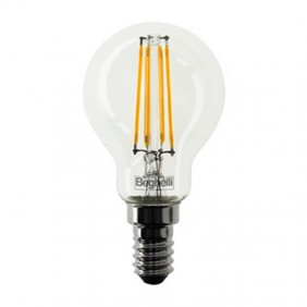 Bulb Beghelli Ball Zafiro LED E14 4W 2700K warm light 56422