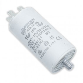 Capacitor Ducati 450V 16 UF with double Faston Tang 416109964.CU