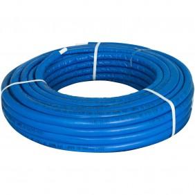 Tubo multistrato Giacomini PEX-b/Al/PEX-b 16 x 2,6 mm blu R999IY225