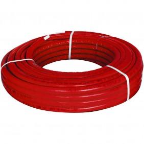 The multi-layer tube Giacomini PEX-b/Al/PEX-b 16 x 2.6 mm red R999IY220