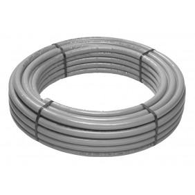 Tubo multistrato Giacomini PEX-b/Al/PEX-b 26 x 3,13 mm grigio R999IY170