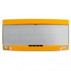 Panneau Optique Acoustique Informer EN54-3/23 PAN1-PLUS-Y
