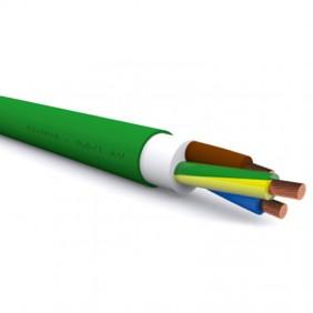 Cavo Doppio Isolamento Afumex 3X10mmq 1 Metro Giallo Verde FG16OM163G10