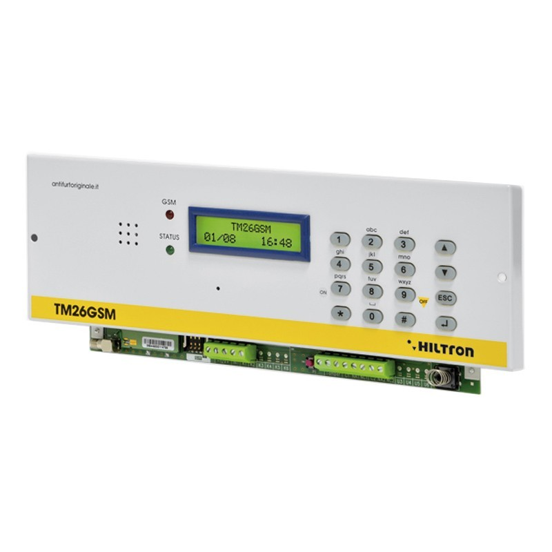 HILTRON Panel, GSM dialer 2in/2out with vocal messages