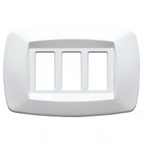 Master Modì for Bticino plate 3 modules white...