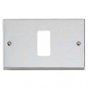 Plaque Master 1 hole stainless steel master media 350-1