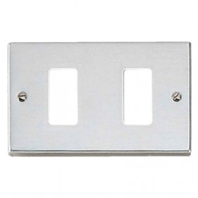 Master plate 2 holes stainless steel for master...