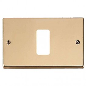 Master plate 1 hole bronze for master supports...