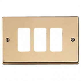 Master plate 3 holes bronze for master supports...