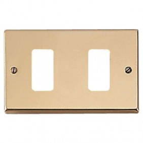 Master plate 2 holes bronze for master supports...