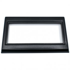Black lacquered metal Master frame to be...