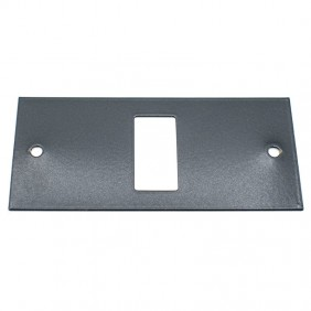 Master insert black lacquered 1 hole to be...