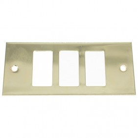 Insert Master Gold lacquer 3 holes complete with frame 60l213