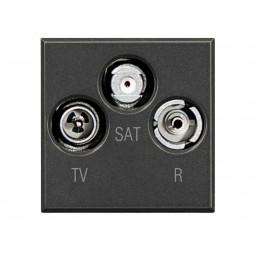 BTICINO AXOLUTE PRESA TV/RD/SAT HS4210D