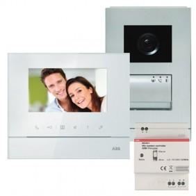 Kit Videocitofono Abb Monofamiliare con Vivavoce Schermo 4,3 WLK311B