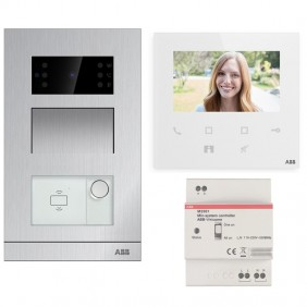 ABB Flush-mounting Single-Family Video Doorphone Kit with Wifi WLK411B