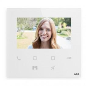 Abb M22401-W Téléphone de porte vidéo Wifi 4,3 pouces avec haut-parleur mains libres WLI501B
