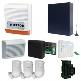 Hiltron Burglar Alarm KIT with Central POWER8 KITPOWER