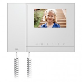 4.3 colour Abb video door phone monitor with handset and single-family image memory