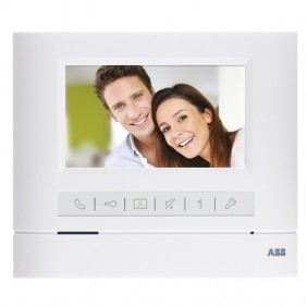4.3 colour Abb videointercom monitor 4.3 hands-free BASIC single-family hands-free