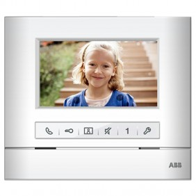 "ABB Basic 4.3"" Video Door Station with WLI303B image memory speakerphone"