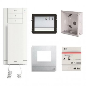 ABB Startkit Audio M20001 WLK101B Single Family Intercom Kit