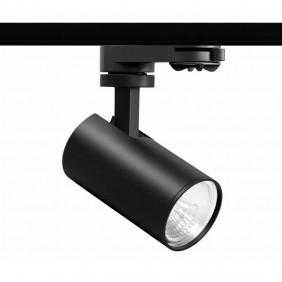 Beneito e Faure 9,5W LED Track Floodlight Black 4438