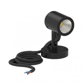Lombardo AGO WALL LED outdoor spotlight 6W 3000K Black LL126005D3
